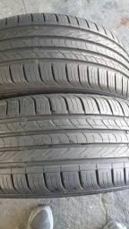 2 pneus semi novos 195/50/15 importados nada  de conserto