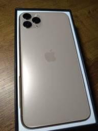 IPHONE 11 PRO MAX GOLD 64 Gb . Sem detalhes! IMPECÁVEL!!!