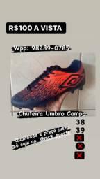 CHUTEIRA UMBRO CAMPO TAM 38 e 39