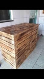 Balcão caixa de pallet  R$250,00