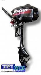 Motor de Popa Mercury 3.3HP 2 Tempos 15? manual