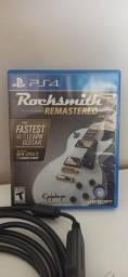 Jogo PS4 - Rocksmith com cabo, Infamous, Concrete Genie