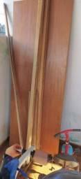 Porta de madeira, 200 reais