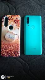 Motorola One Action 128 gb Aqua