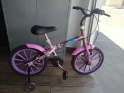 Bicicleta infantil aro 16 da Moana