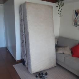 Cama Box + colchão