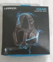 Fone de Ouvido Headset Gamer Askari PS4, Warrior, PH292 Azul