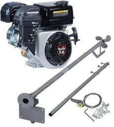 Motor Barco 7hp Bote 4t Toyama + Rabeta Completa 1.70mt Std