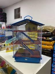 Gaiola para Hamster Media 3 Andares