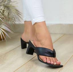 Tamanco/sandália/salto