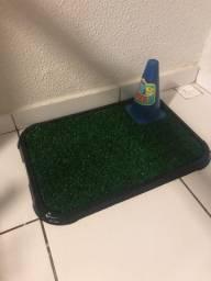 Tapete higiênico grama