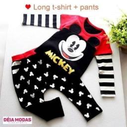Conjunto importado do Mickey