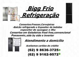 Consertos e Manutenção de Geladeiras-Freezer\Cervejeiras\Balcão refrigerado e outros