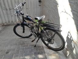 Bicicleta motorizada.