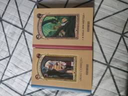 Livros Desventuras em Série 1 e 2