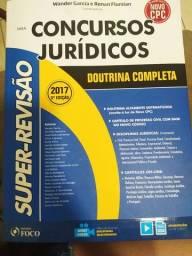 Livro concursos jurídicos - usado
