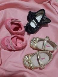 Sapatos bebê menina