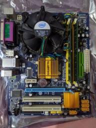 Kit 775 G31m + Core 2 quad Q8400 + 4gb