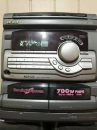 Rádio Aiwa 700w pmpo