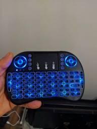 Mini teclado sem fio wireless com touchpad