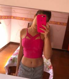 Cropped rosa P