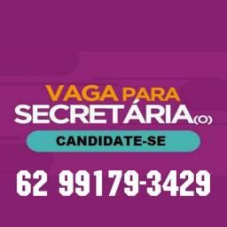 Vaga para Secretária