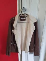 Casaco chileno com pele de alpaca