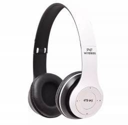 Fone De Ouvido Sem Fio Wireless 5.0 Headphone Dobravel Bluetooth Micro Sd Card P2 Mp3