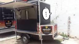 Food Truck Trailler Equipado 2018 Troco