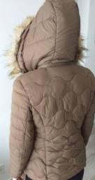Vendo Jaqueta feminina marrom tamanho M