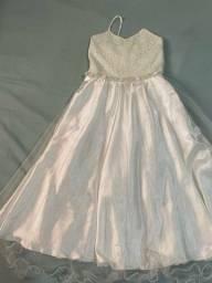 Vestido Daminha - Casamento ao ar livre