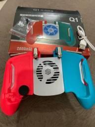 Estação Gamer Para Celular Com Cooler