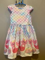 Vestido infantil - roupas infantis