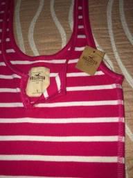 Regata \ mini vestidos Hollister produto original tamanho p