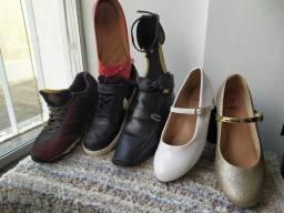 Calçados usados em ótimo estado de conservação
