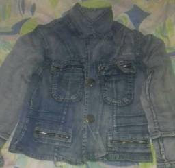 Jaqueta feminina jeans tamanho P