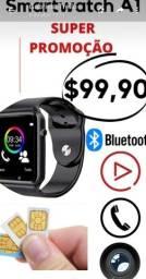 Smartwatch A1 novo com garantia .