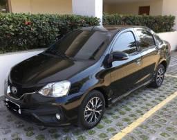 Etios Platinum 2018 Automatico com GNV ultima geração
