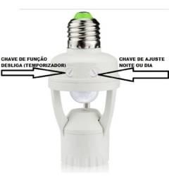 Sensor De Presença Para Iluminação Lk-6015 - Luatek