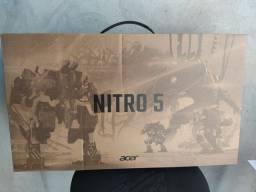 Nitro 5 novo lacrado com nota fiscal