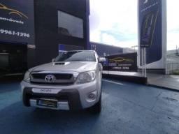 Hilux SRV 3.0 diesel 4x4 IMPECÁVEL COURO SOM RODAS PLACA A