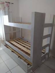 Beliche com cama Auxiliar