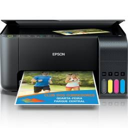 Impressora Multifuncional Epson L3150 Jato De Tinta Ecotank Colorida, Wi-Fi, Bivolt