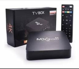 Tv box MXQ 16GB ram e 256GB o top