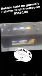 Bateria 150ah de caminhão