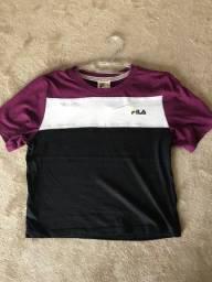 blusa da Fila