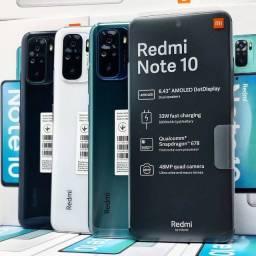 xiaomi Redmi Note 10 64gb/128gb-a pronta Entrega- Global-com garantia!