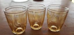 Conjuntos de copos antigos