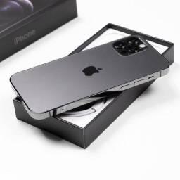 iPhone 12 Pro Max Grafite 128GB (Lacrado - Aceito trocas)
