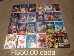 Filmes da Disney Bluray e DVD
